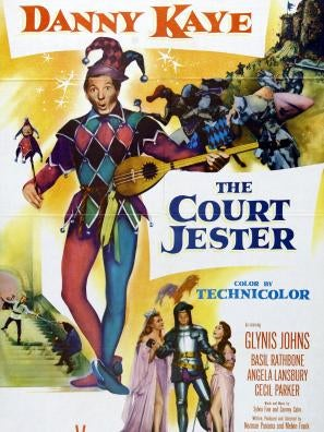 The Court Jester movie poster
