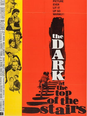 The Dark at The Top Of The Stairs movie poster