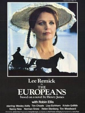 The Europeans movie poster