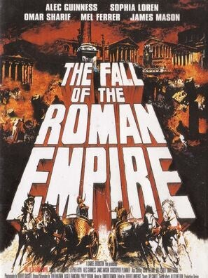 The Fall Of The Roman Empire movie poster