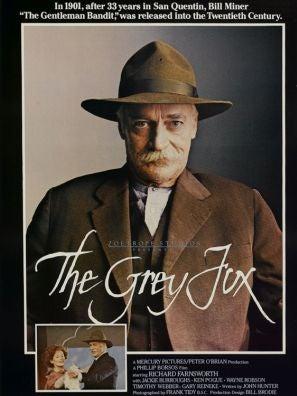 The Grey Fox movie poster