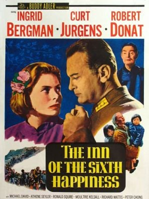The Inn of the Sixth Happiness movie poster