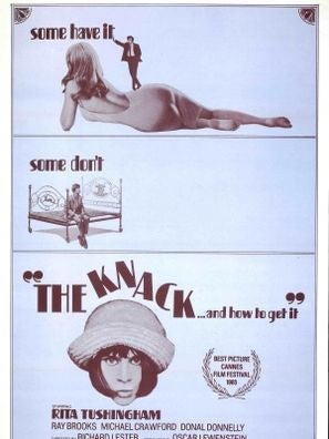 The Knack movie poster