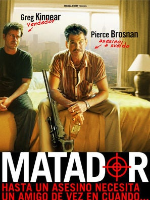 The Matador movie poster