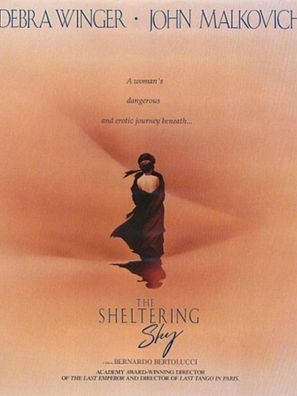 The Sheltering Sky movie poster