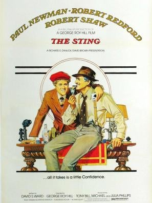 The Sting movie poster