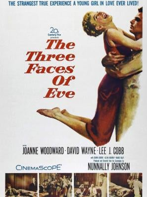 The Three Faces of Eve movie poster