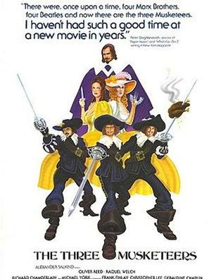 The Three Muskateers movie poster (1973)
