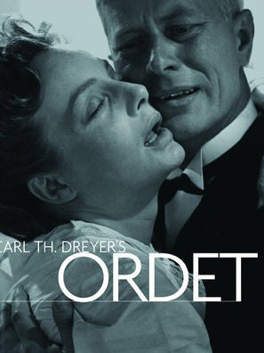 The Word, aka Ordet movie poster