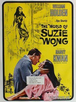The World of Suzie Wong movie poster