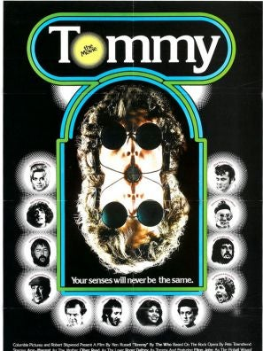 Tommy movie poster