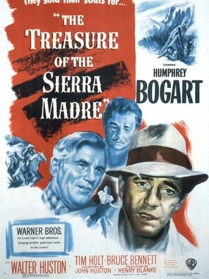 The Treasure of the Sierra Madre movie poster
