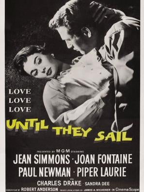 Until They Sail movie poster