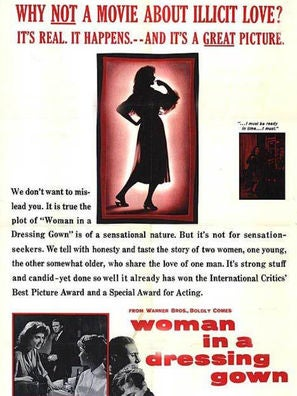 Woman In a Dressing Gown movie poster