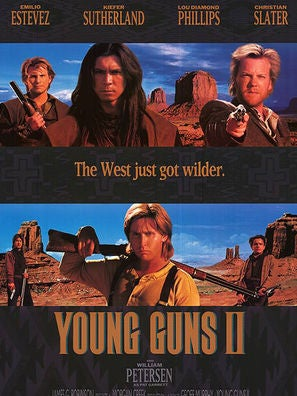 Young Guns II movie poster