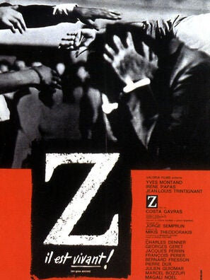 Z movie poster