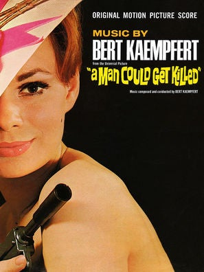 Cover of soundtrack album for A Man Could Get Killed