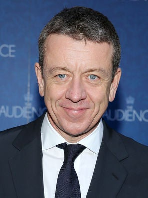Writer Peter Morgan, Golden Globe nominee