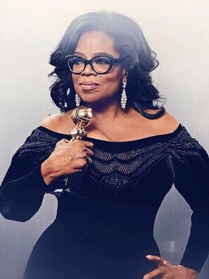 Oprah Winfrey, recipient of the Cecil B. deMille Award