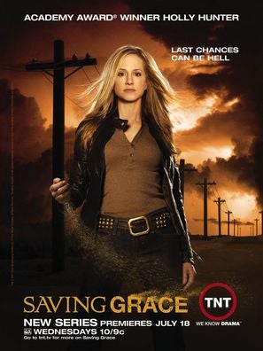 Poster for the telefgilm Saving Grace