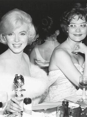 Marilyn Monroe  Golden Globe winner 1960