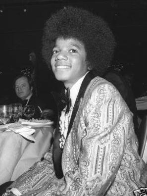 Popstar Michael Jackson, Golden Globe winner, 1973