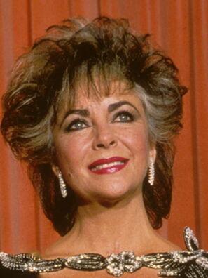 Elizabeth Taylor Golden Globes