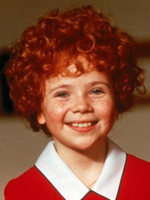 """Aileen Quinn in """"Annie"""""""