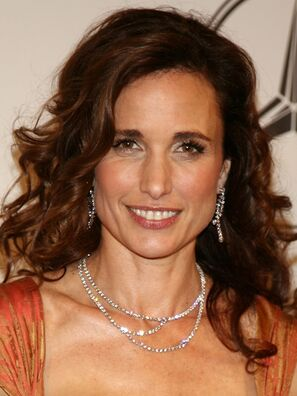 Authoritative point Andie macdowell nude room service