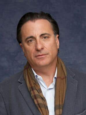Actor and producer Andy Garcia
