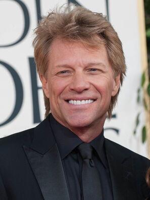 Rockstar Jon Bon Jovi, Golden Globe winner