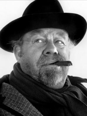 Burl Ives in The Big Country