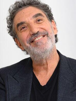 Writer producer Chuck Lorre, Golden Globe winner