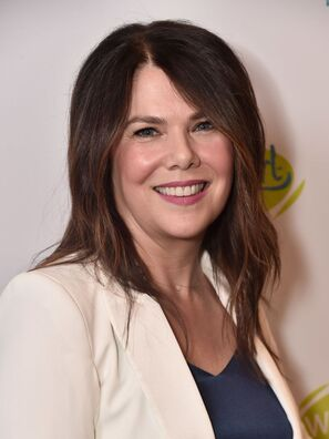Actress Lauren Graham. Golden Globe nominee