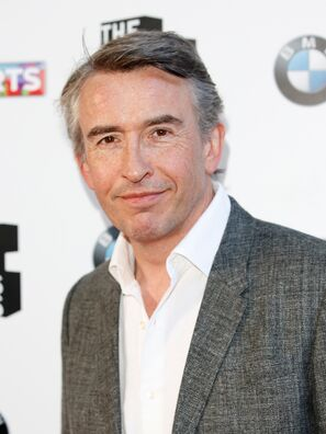 Golden Globe nominee Steve Coogan