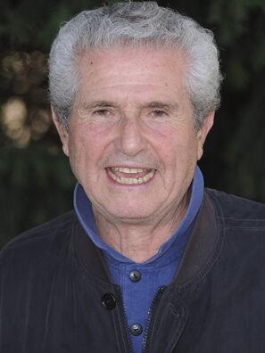 Director Claude Lelouch, Golden Globe nominee