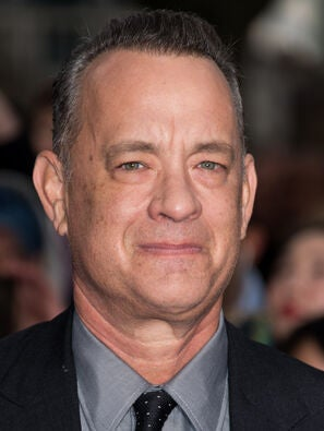 Golden Globe winner Tom Hanks