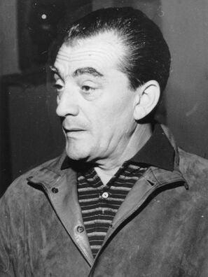 Filmmaker Luchino Visconti