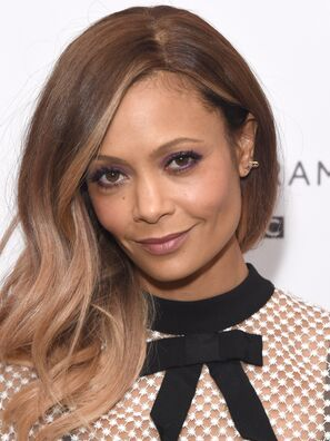 Actress Thandie Newton, Golden Globe winner