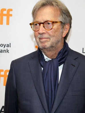 Musician and composer Eric Clapton
