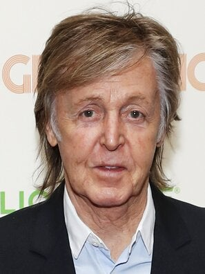 Sir Paul McCartney, musician and composer
