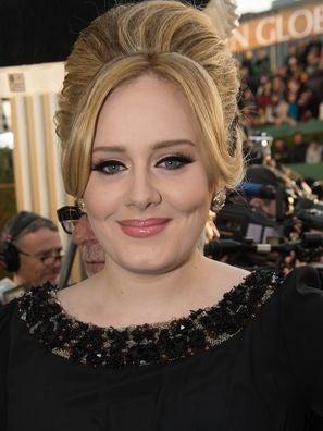 Singer and composer Adele, Golden Globe winner