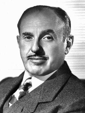 Jack L. Warner portrait