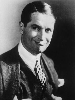 Actors Maurice Chevalier