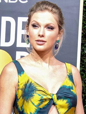 Musician, singer Taylor Swift, Golden Globe nominee