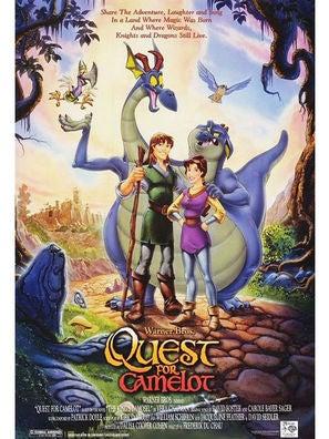 Quest for Camelot The Magic Sword