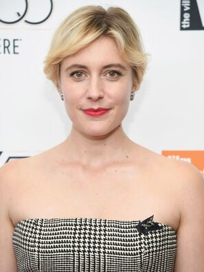 Actress, writer and director Greta Gerwig