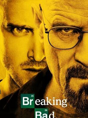 Poster for the Golden Globe winning tv series Breaking Bad