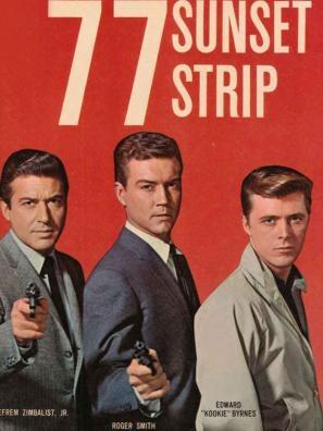 77 Sunset Strip poster