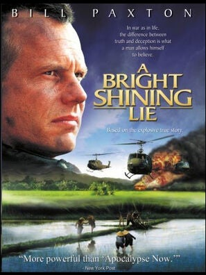 A Bright Shining Lie poster